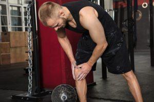Man Suffering From Knee Osteoarthritis